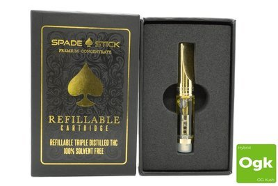 O.G Kush Replacement Cartridge by Spadestick