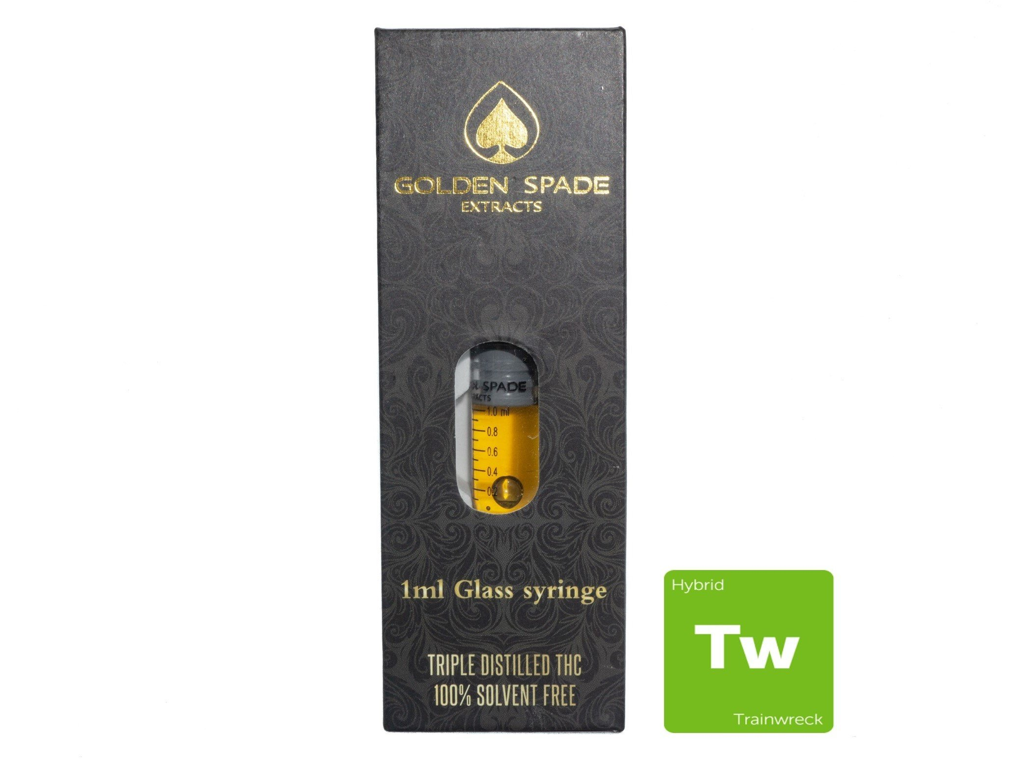 Trainwreck 1ml Syringe by Golden Spade Extracts 01213