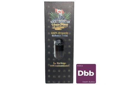 Death Bubba 1gram Syringe by Rocky Mountain Rosin Sauce