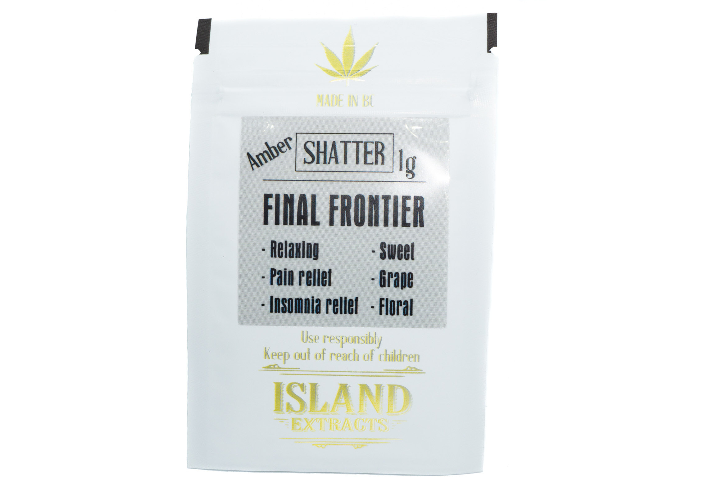 Final Frontier Shatter (Romulan & Purple Candy) (1g) by Island Extracts 01225