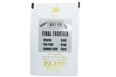 Final Frontier Shatter (Romulan & Purple Candy) (1g) by Island Extracts