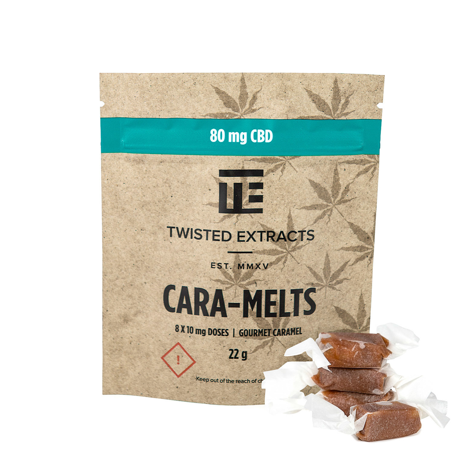 Cara-Melts CBD (80mg) by Twisted Extracts 00068
