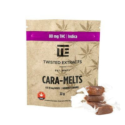 Cara-melts THC Indica (80mg) by Twisted Extracts