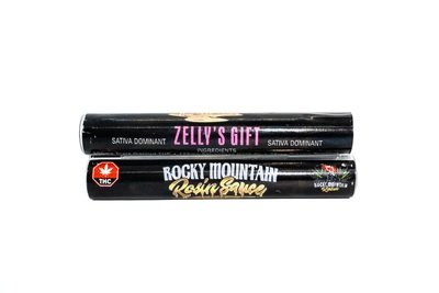 Zelly's Gift (Sativa) (Full Spectrum) Rosin Sauce Replacement Cartridge by Rocky Mountain