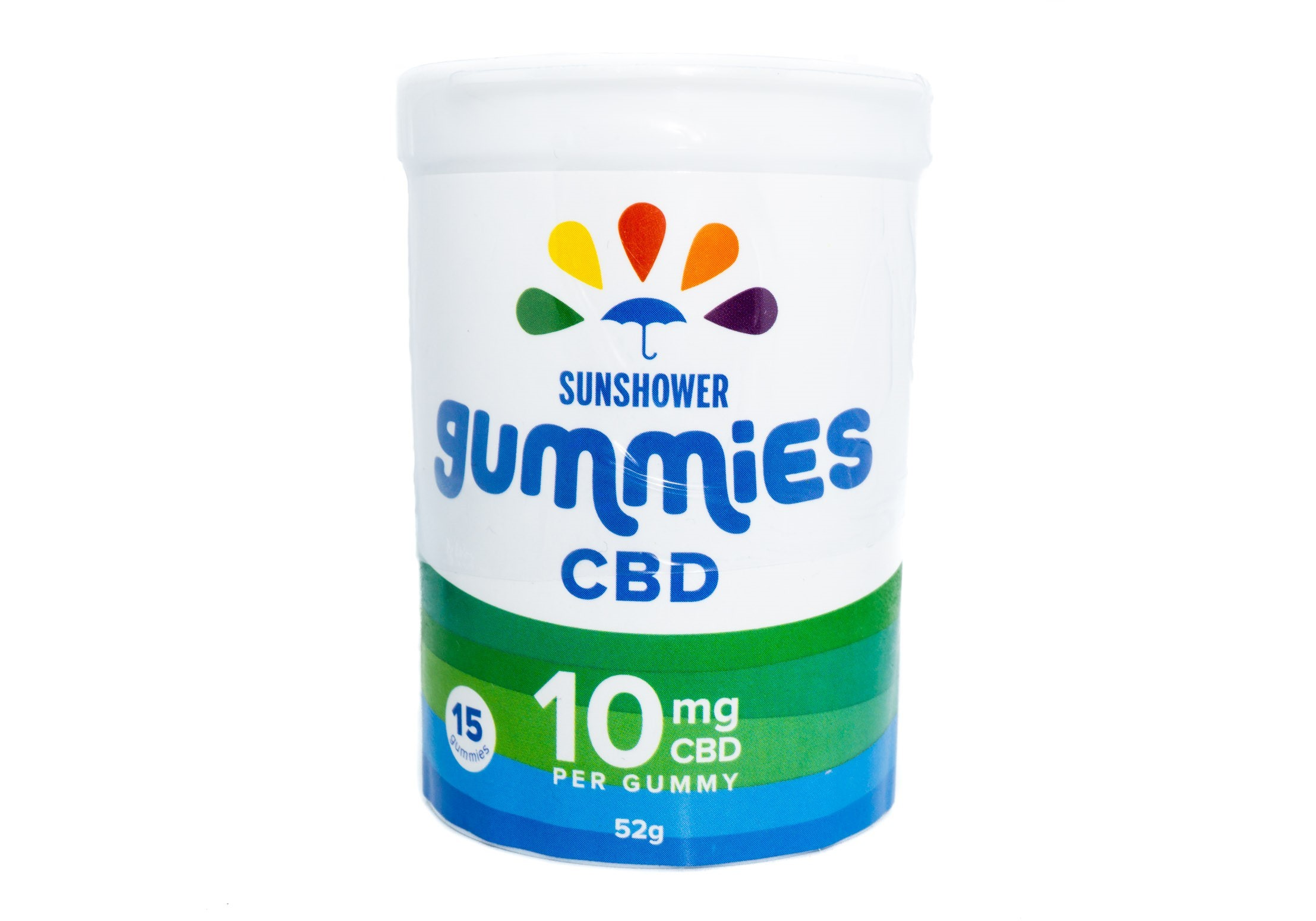 CBD Sunshower Gummies by Baked Edibles (150mg) 01244