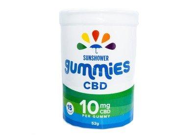 CBD Sunshower Gummies by Baked Edibles (150mg)
