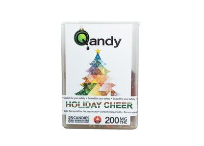 (200mg) Holiday Cheer Full Spectrum Hard Candies By Qandy (Vegan/Gluten Free)