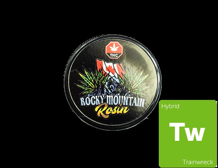 Trainwreck Rosin By Rocky Mountain 01136