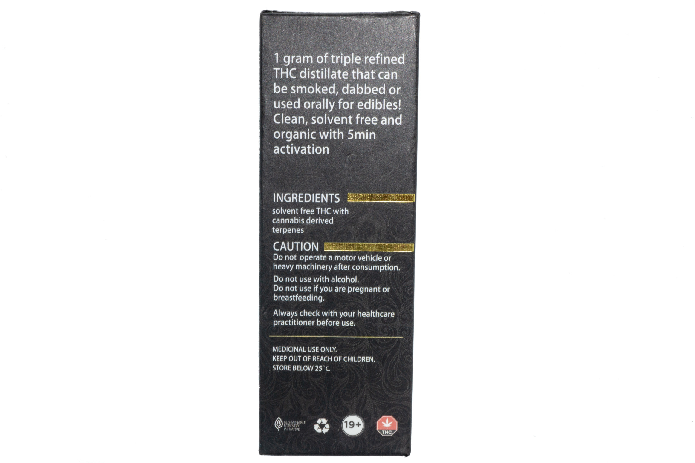 Mango Haze 1ml Syringe by Golden Spade Extracts