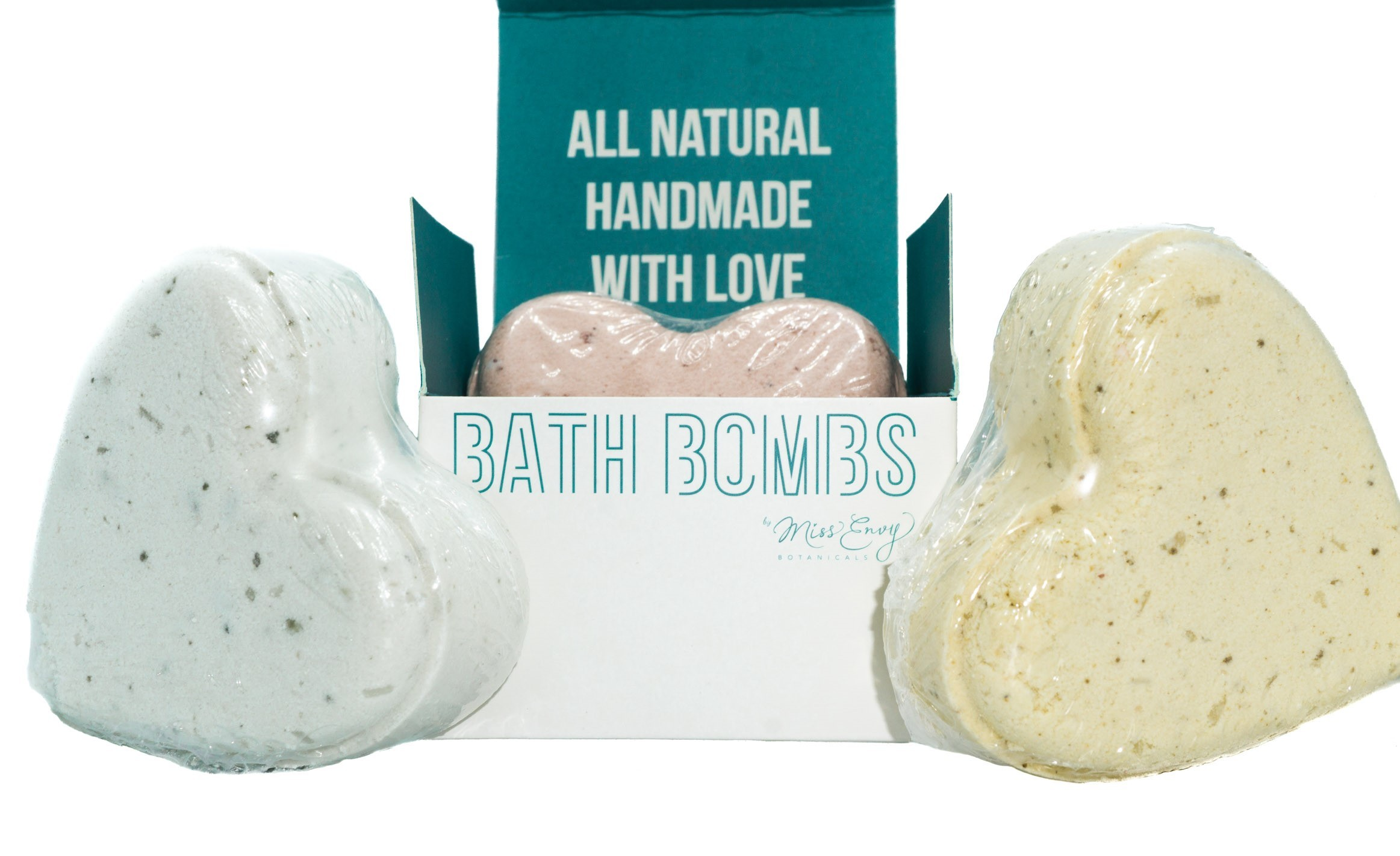 Bath Bombs By Miss Envy (Organic) 01304
