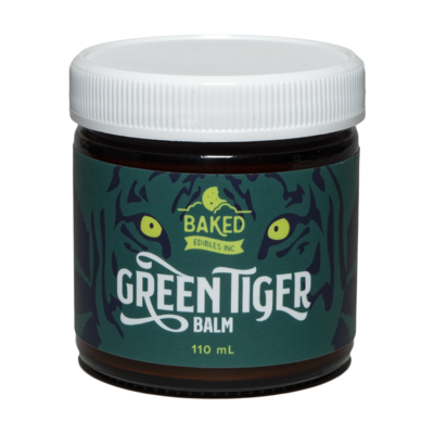 Green Tiger Balm By Baked Edibles