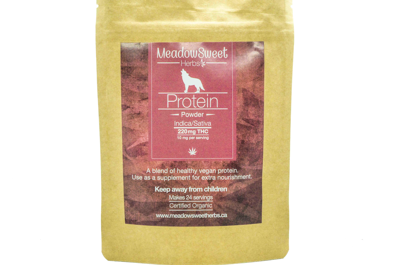 Vegan Protein Powder by MeadowSweet Herbs (220mg THC) 01311