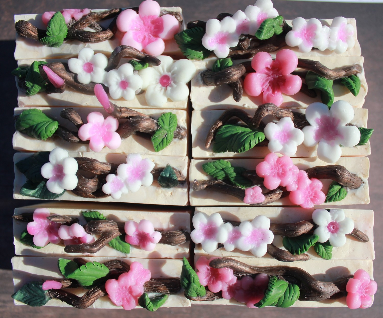 """Cherry Blossom"" (limited run of 12 bars)"