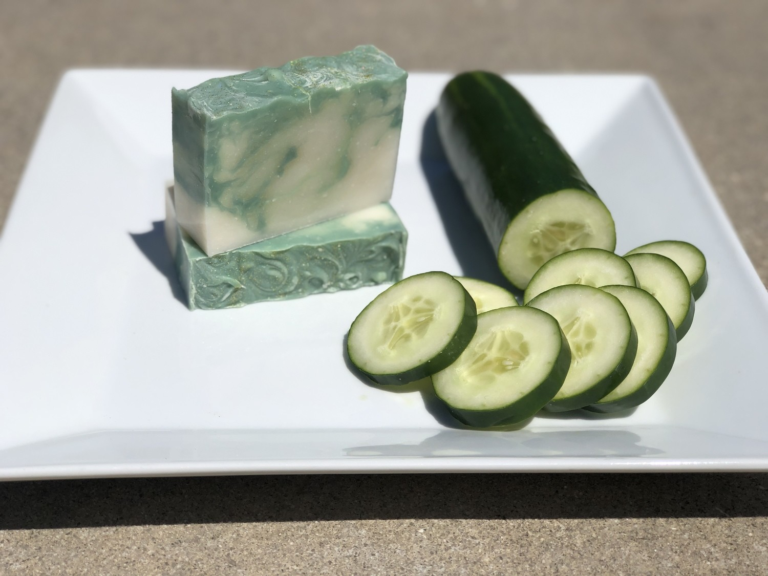 """Cool Cucumber"" (scented with Cool Cucumber)"