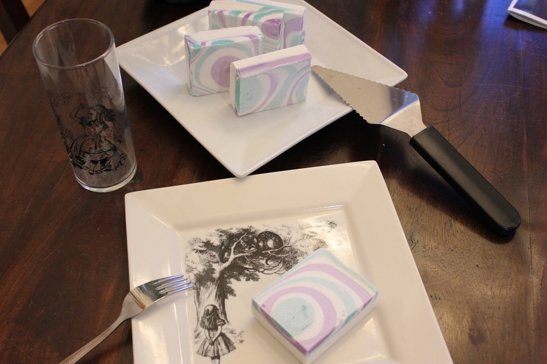 """""""Tea Party"""" (Cucumber & Melon Scented) (Hand-bar sized)"""