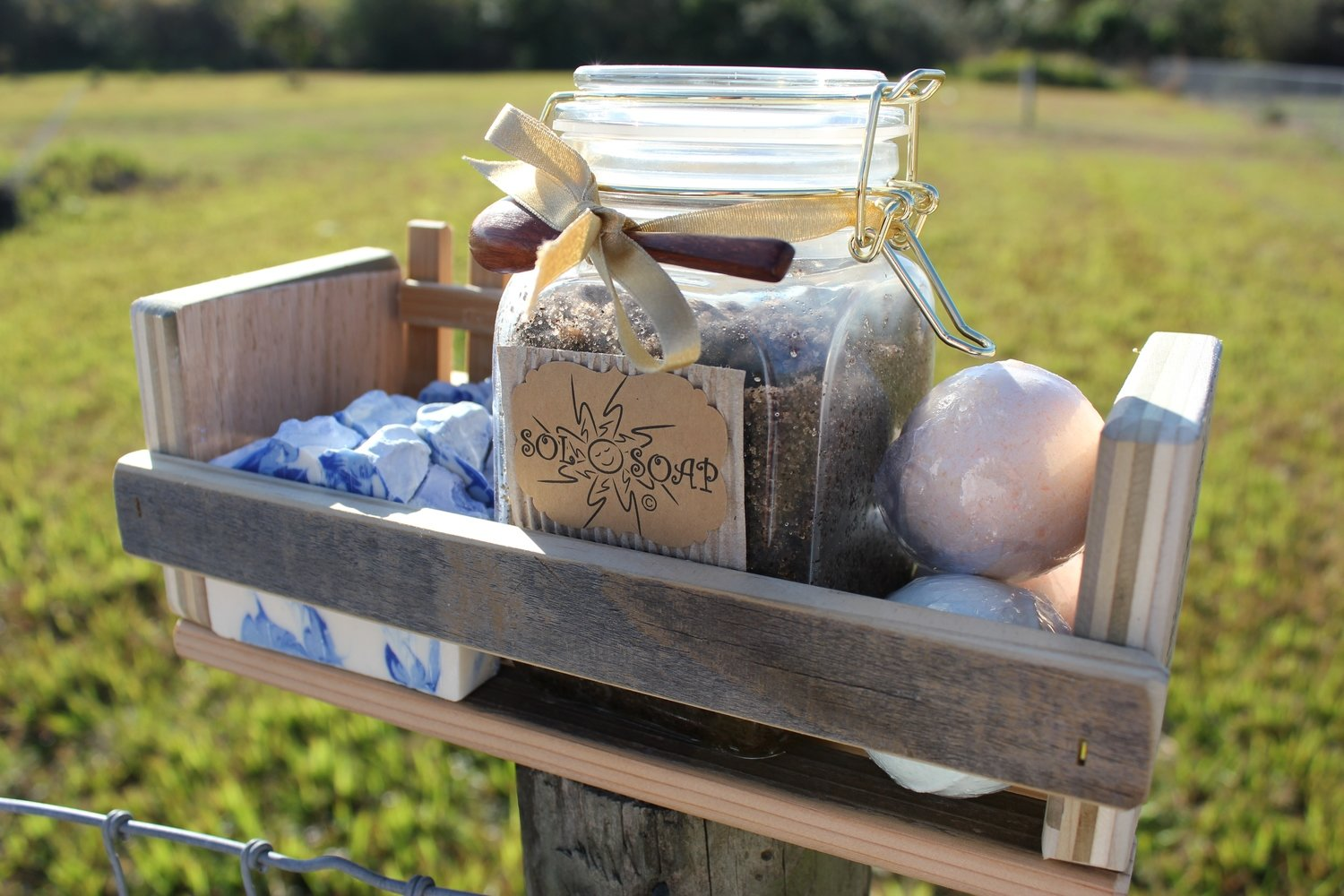 "Gift Set ""Crate of Sunshine""  (See Product Details)"