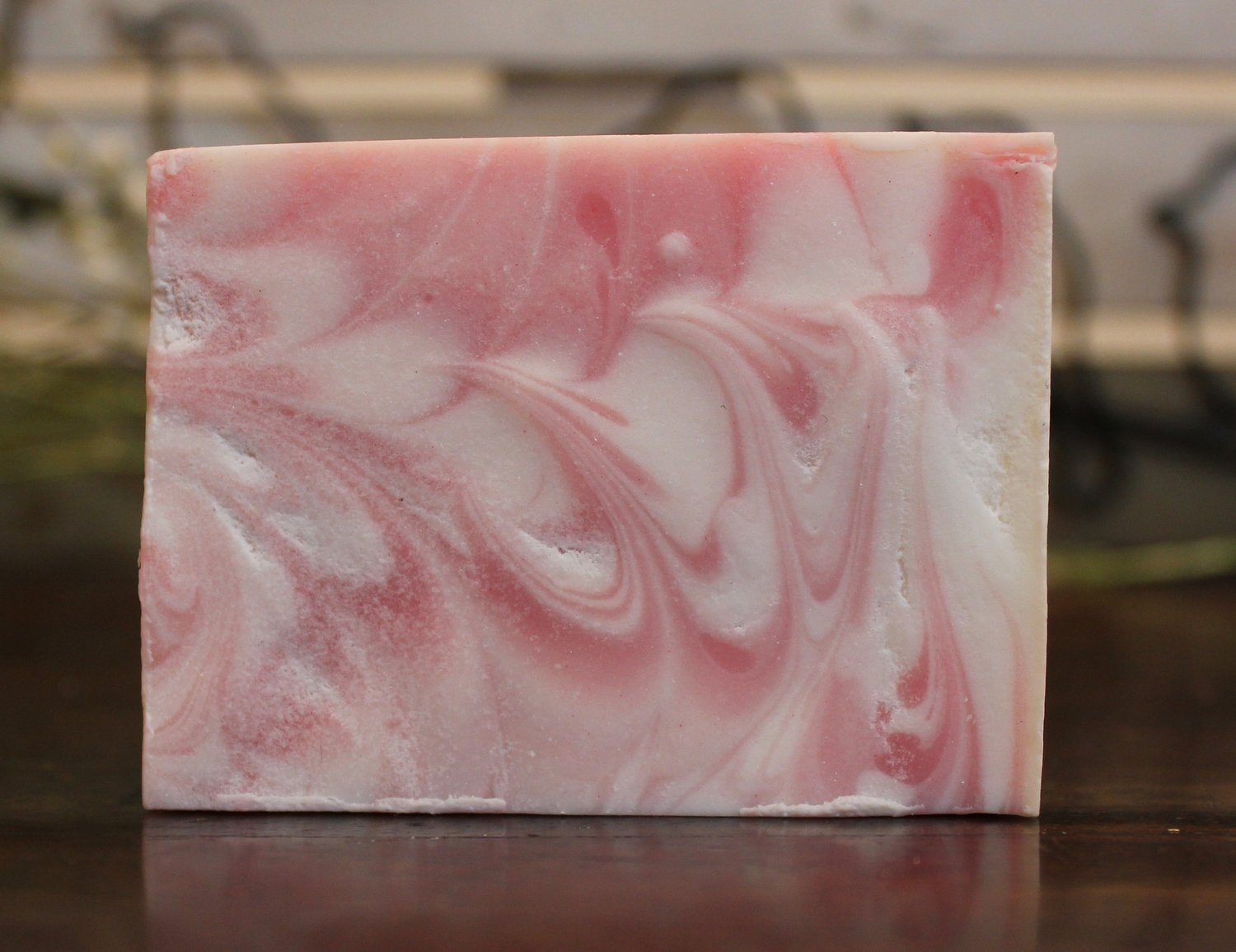 """Pretty in Pink"" (Cotton and Juniper Berry Scent) (Hand-Sized Bar)"