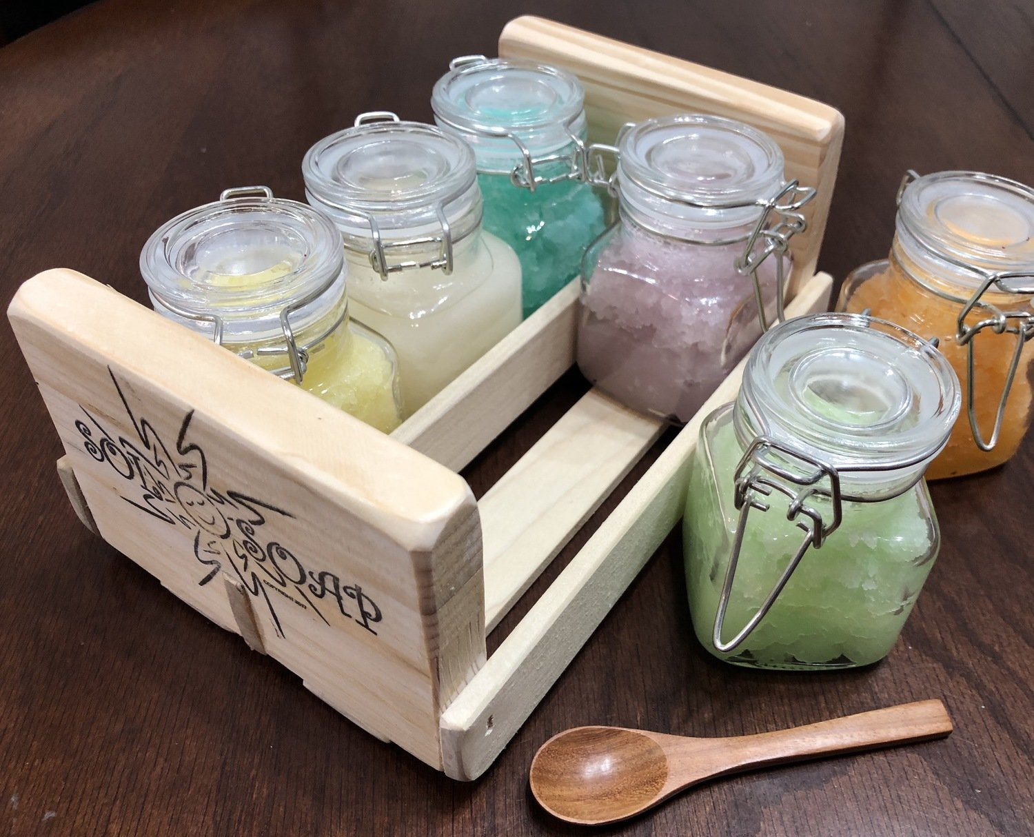 "Body ""Scrub Sampler"" 6 Scent Set (New Crate Edition!)"
