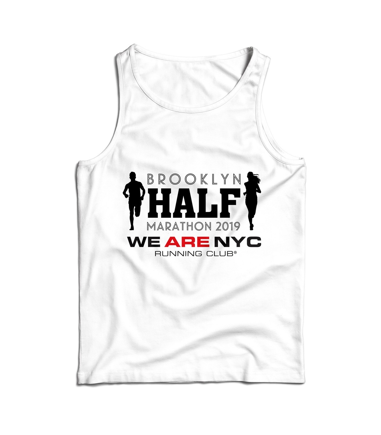 "2019 BROOKLYN HALF ""ALL BORO"" TANK TOP / SINGLET"