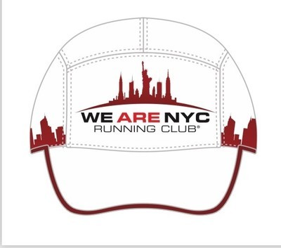 We Are NYC Running Club - Official Runners Cap (WHITE) By Boco Gear
