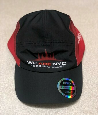 We Are NYC Running Club - Official Runners Cap (BLACK) By Boco Gear