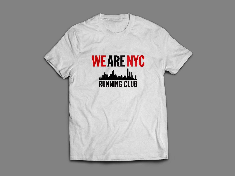 "WE ARE NYC ""IMPACT SKYLINE"" SHORT SLEEVE TSHIRT (black or white)"