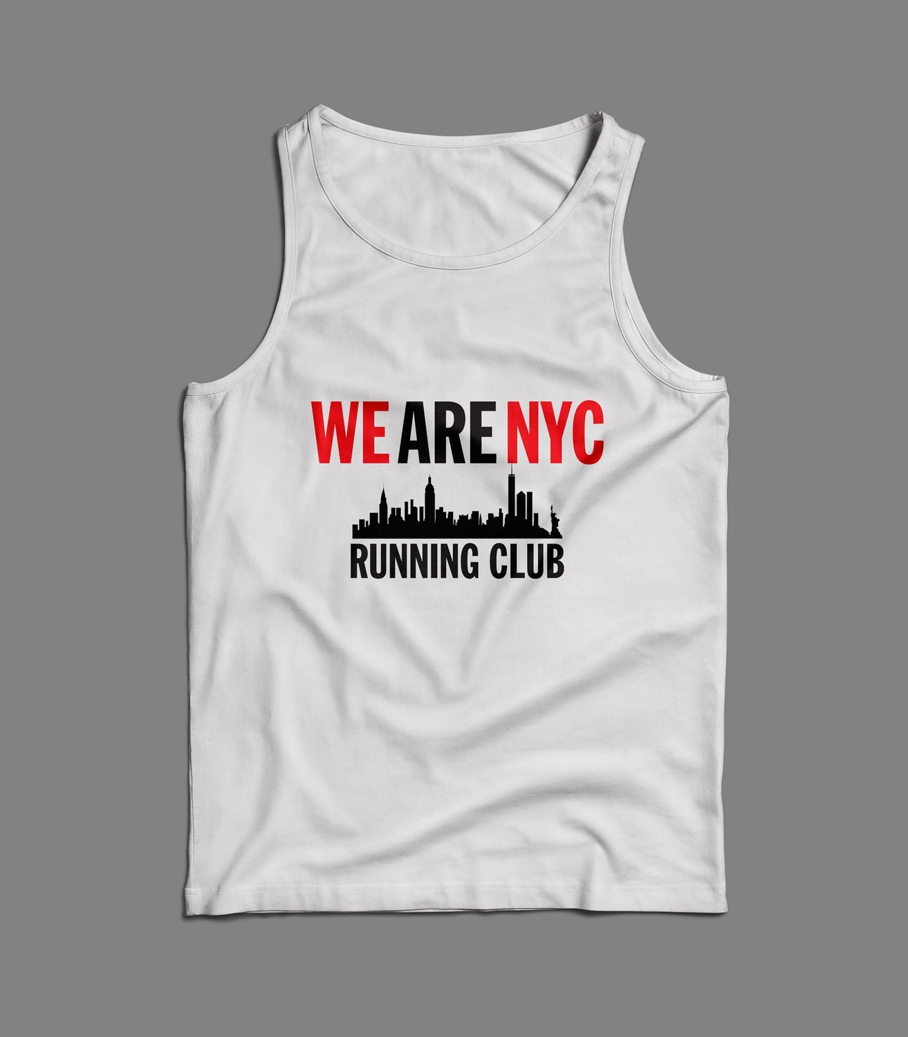 "WE ARE NYC  ""IMPACT SKYLINE"" TANK/SINGLET (various colors)"