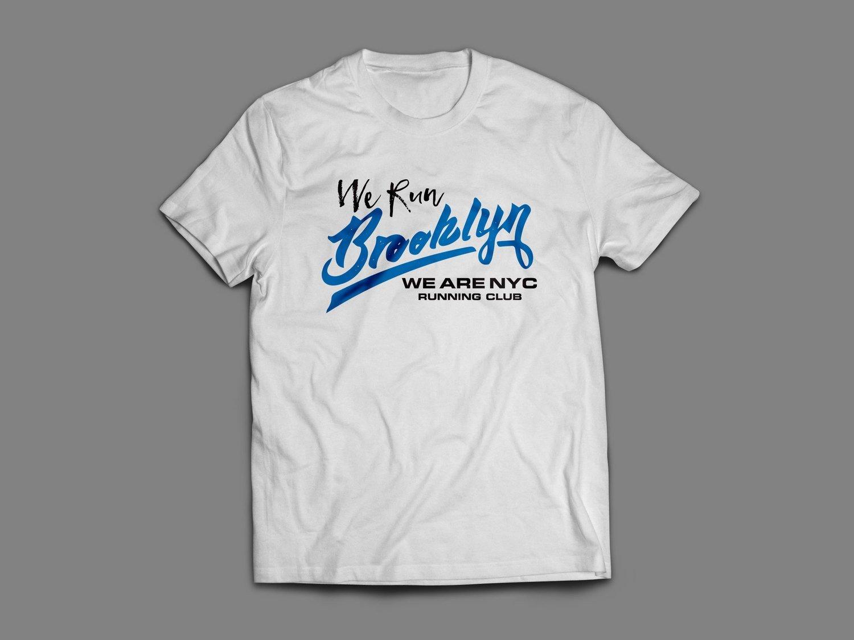 "WE ARE NYC BROOKYLN ""SCRIPT FONT"" SHIRT"