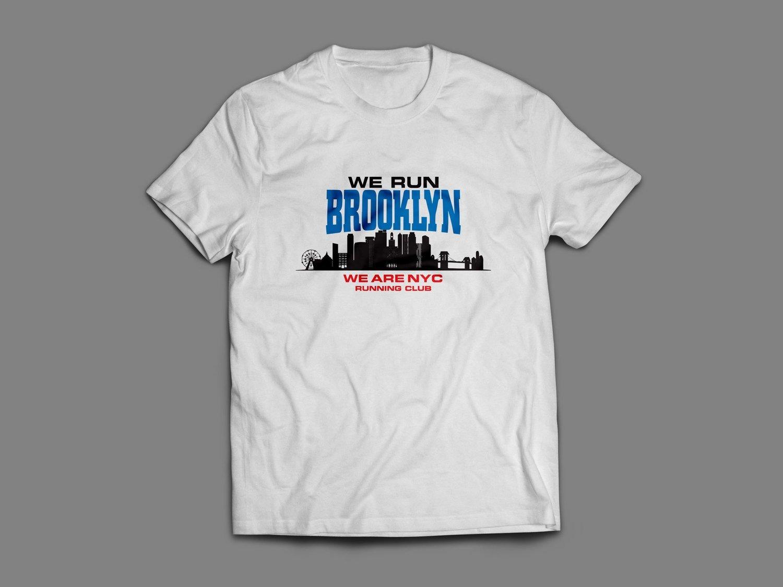 "WE ARE NYC  ""BROOKLYN SKYLINE"" TSHIRT"