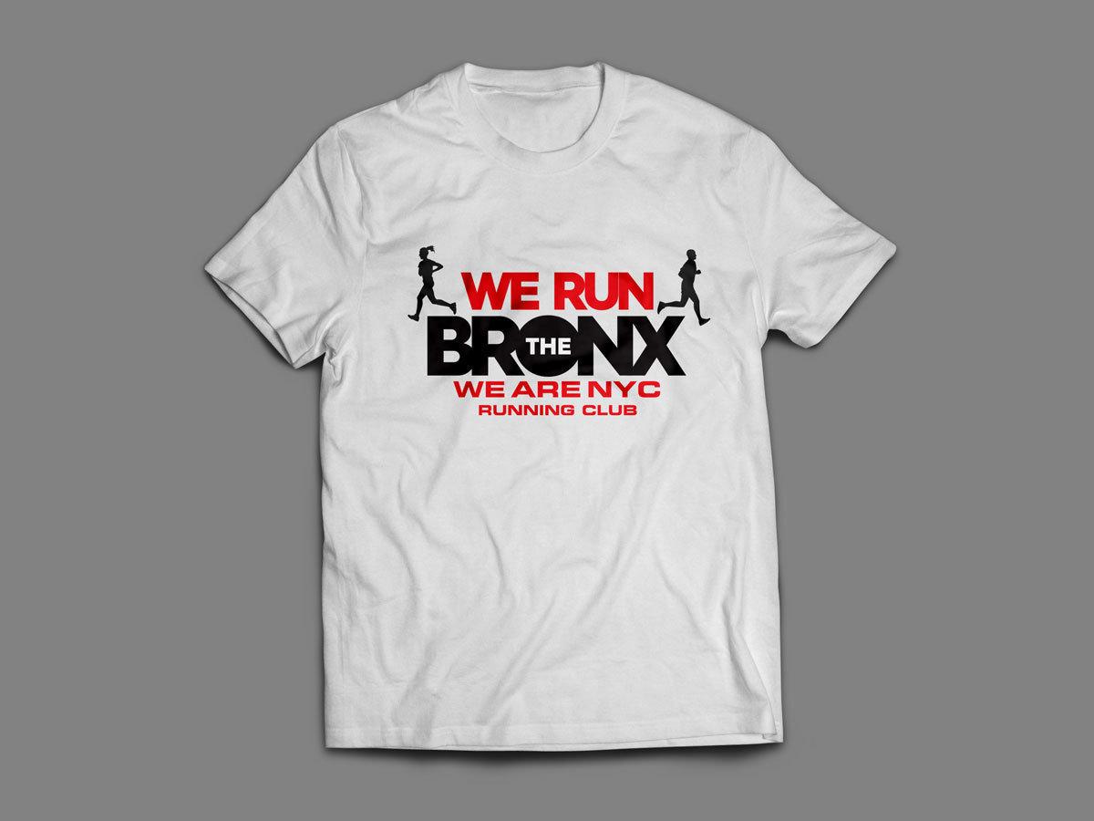 """WE ARE NYC """"WE RUN THE BRONX"""" SHIRT"""