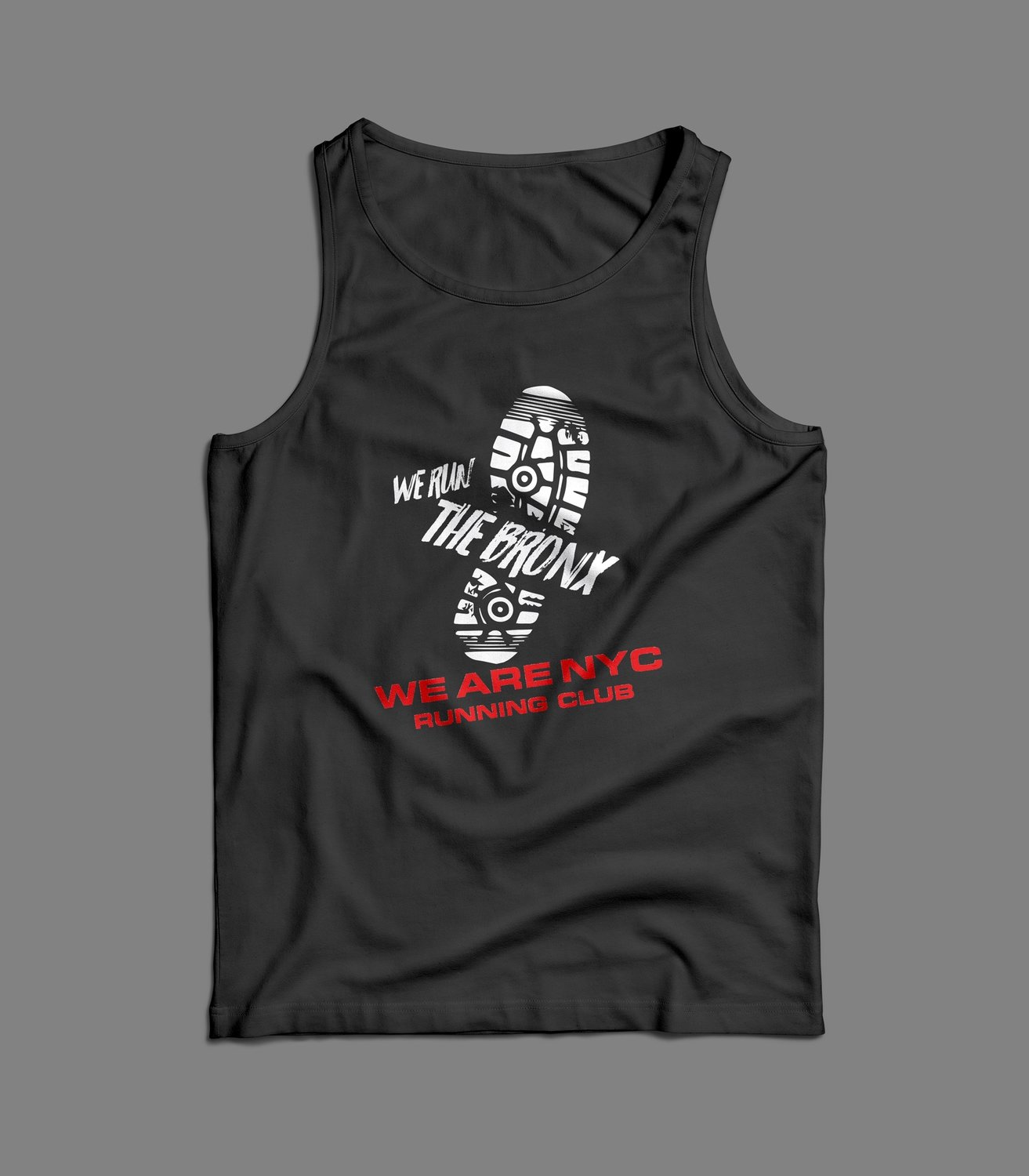 "WE ARE NYC BRONX ""SNEAKER STOMP"" TANK/SINGLET"