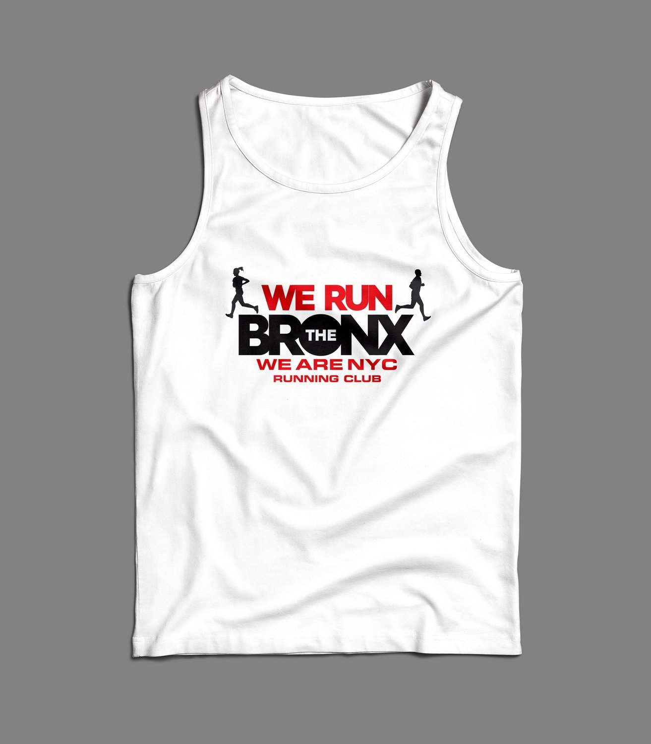 "WE ARE NYC ""WE RUN THE BRONX"" TANK/SINGLET"