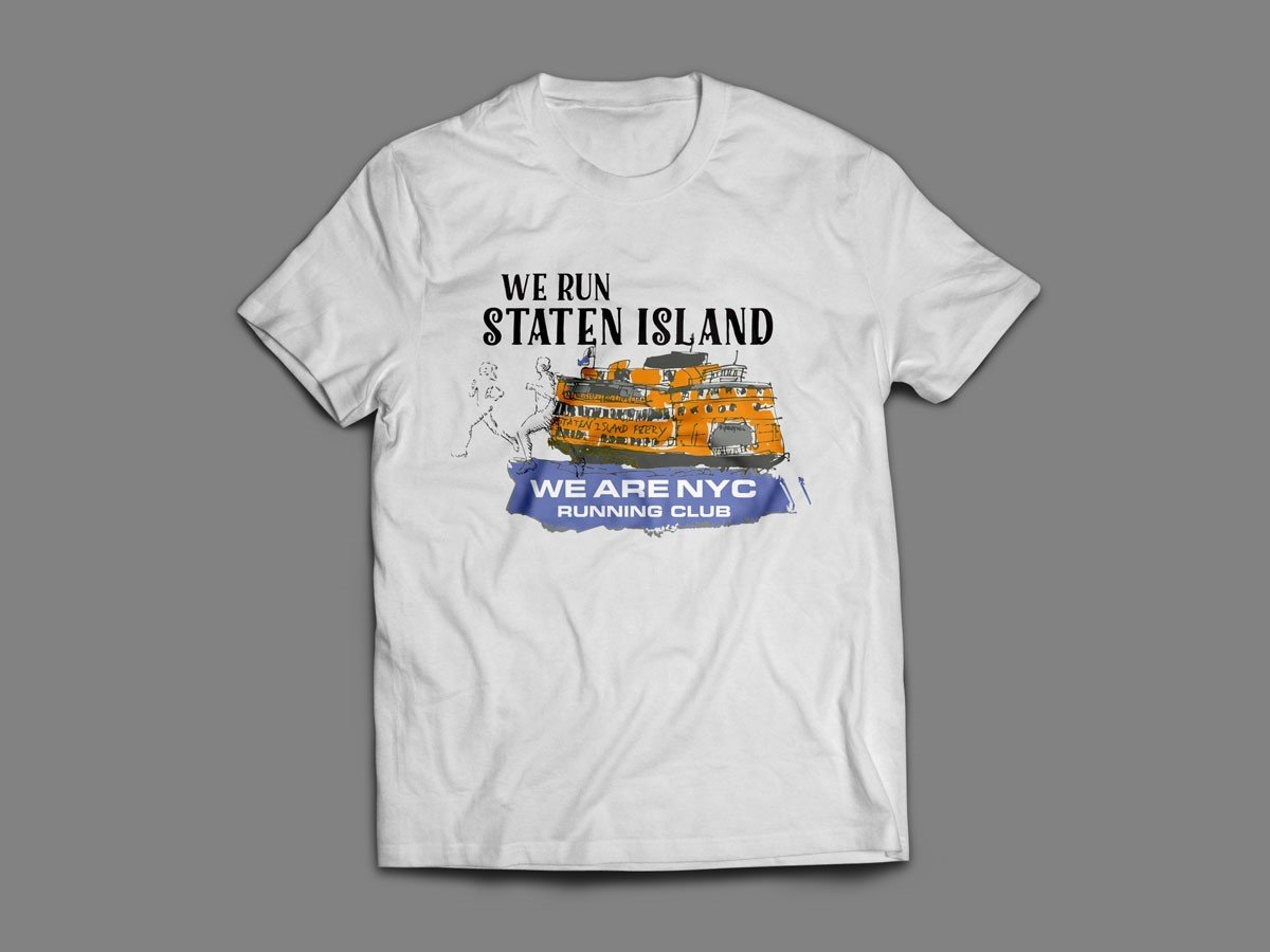 "WE ARE NYC STATEN ISLAND ""FERRY"" TEE SHIRT"