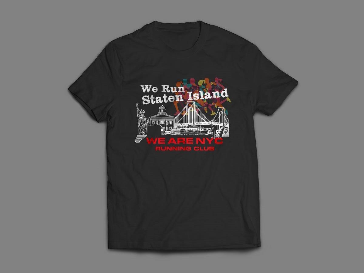 "WE ARE NYC STATEN ISLAND ""RAINBOW"" SHORT SLEEVE SHIRT"