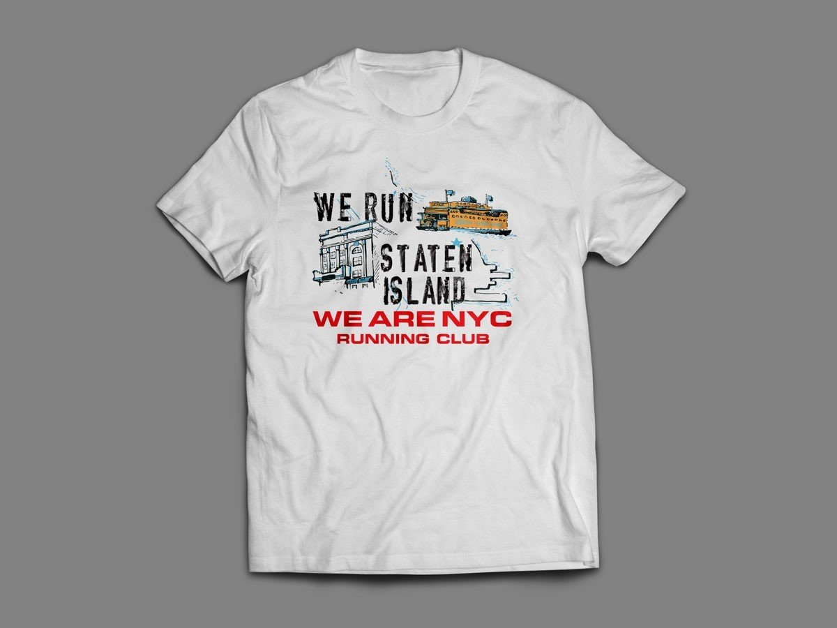 "WE ARE NYC STATEN ISLAND ""ICONIC"" SHORT SLEEVE SHIRT"
