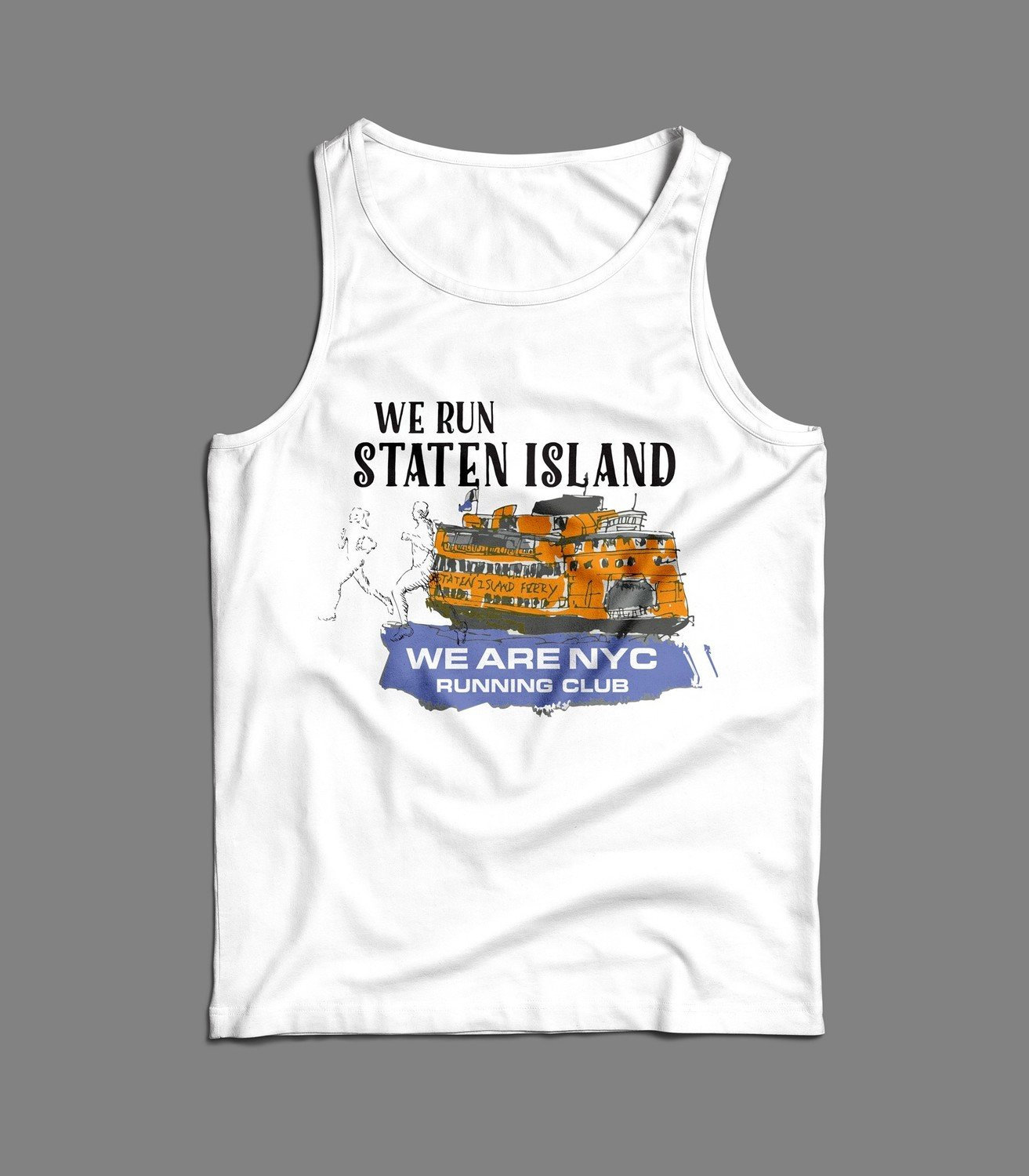"WE ARE NYC - STATEN ISLAND ""FERRY"" TANK / SINGLET"