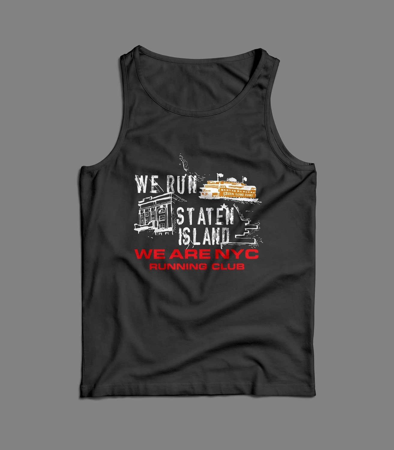 "WE ARE NYC - STATEN ISLAND ""ICONIC"" TANK / SINGLET"