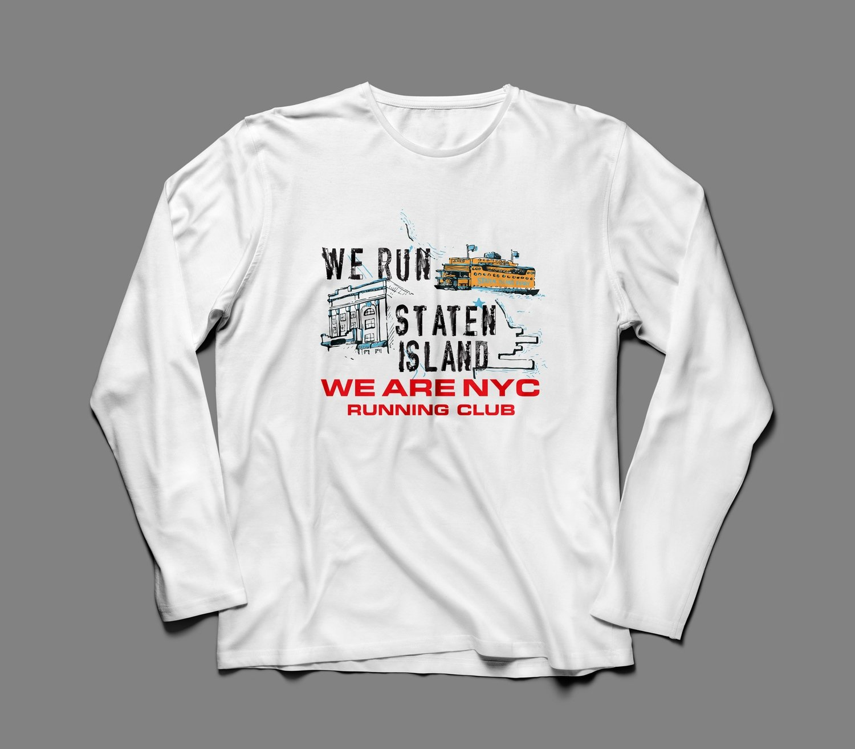 "WE ARE NYC STATEN ISLAND ""ICONIC"" LONG SLEEVE SHIRT"