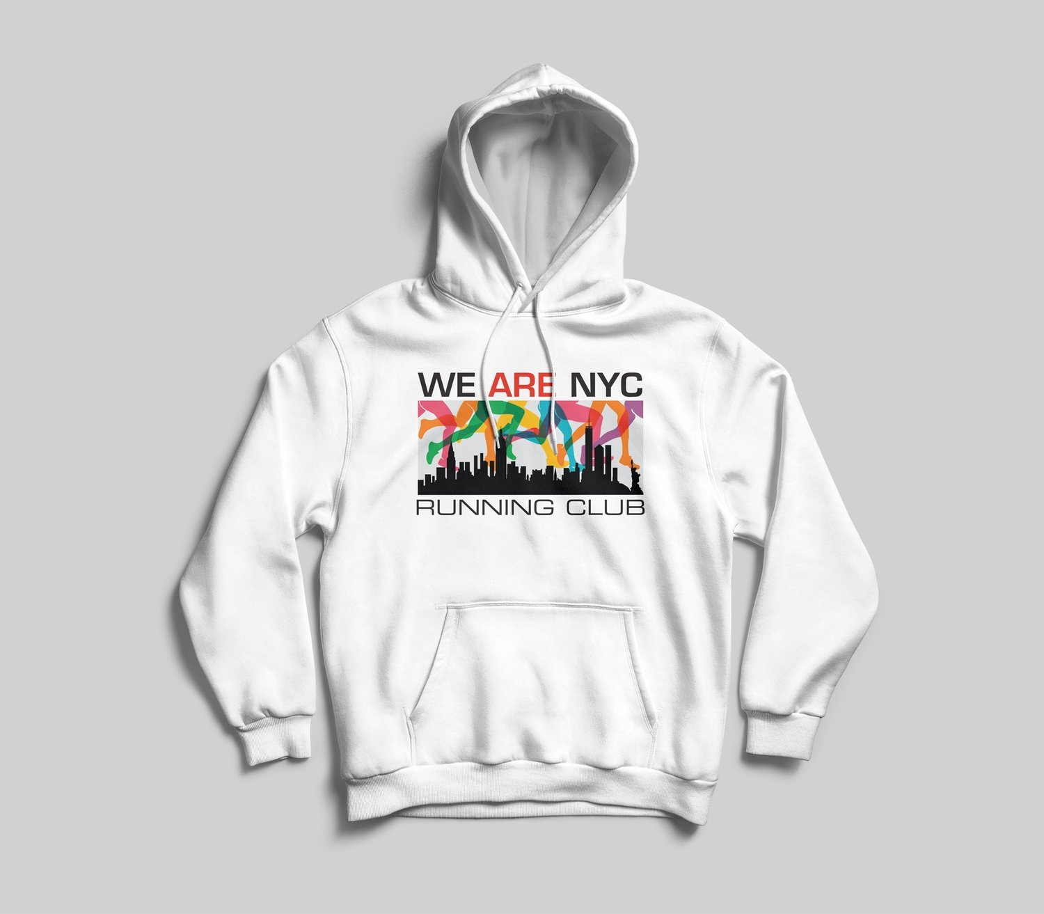 *YOUTH* WE ARE NYC RAINBOW LOGO HOODED SWEATSHIRT - AVAILABLE IN 6 COLORS!