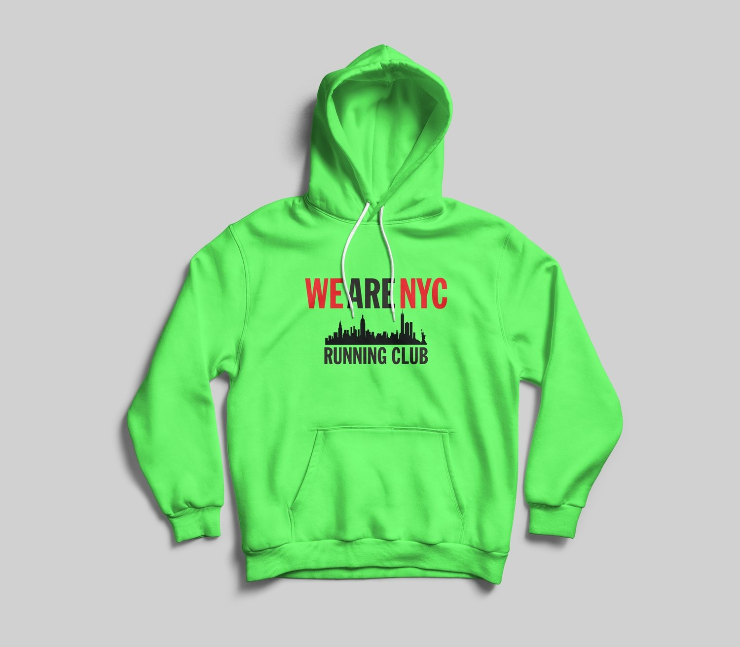 WE ARE NYC IMPACT LOGO HOODED SWEATSHIRT - AVAILABLE IN 7 COLORS!