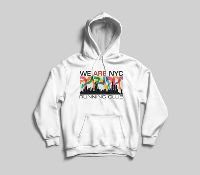WE ARE NYC RAINBOW LEGS HOODED SWEATSHIRT - AVAILABLE IN 7 COLORS!