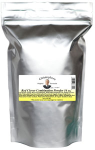 Red Clover Combination Powder 8oz
