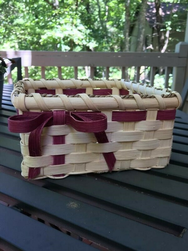 Basic Basket Making, Saturday July 13th, 9am-4pm
