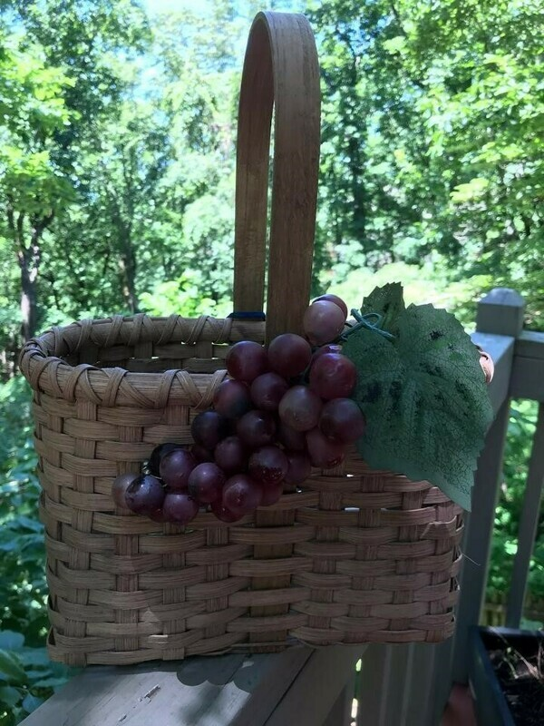 Wine Basket Making, Saturday August 24th  9am-4pm