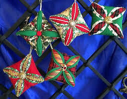 My Kid and Me - Learning to Quilt -CATHEDRAL WINDOW ORNAMENTS -4 Hour Class -  SATURDAY, NOVEMBER 9TH - 9am-NOON