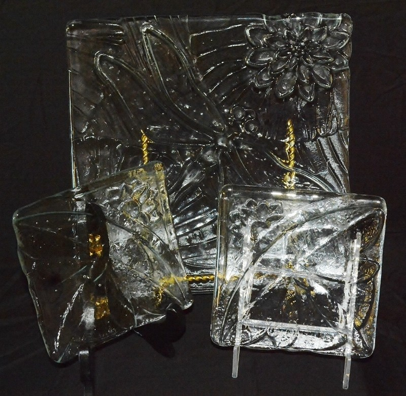 Dragonfly Dishes (Set of 3)