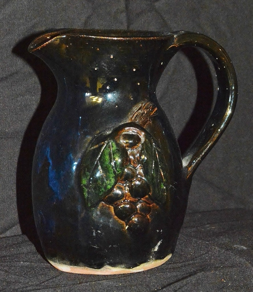 Pitcher with Grapes