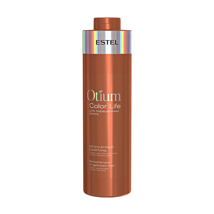 Деликатный шампунь для окрашенных волос ESTEL OTIUM COLOR LIFE, 1000мл