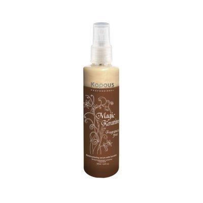 Kapous Реструктурирующая сыворотка для волос  Magic Keratin   200мл.