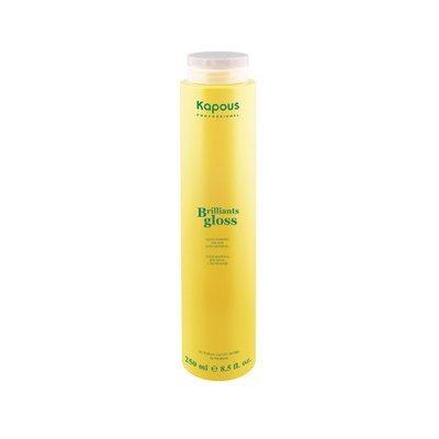 KAPOUS Блеск-шампунь Brilliant Gloss  250мл.